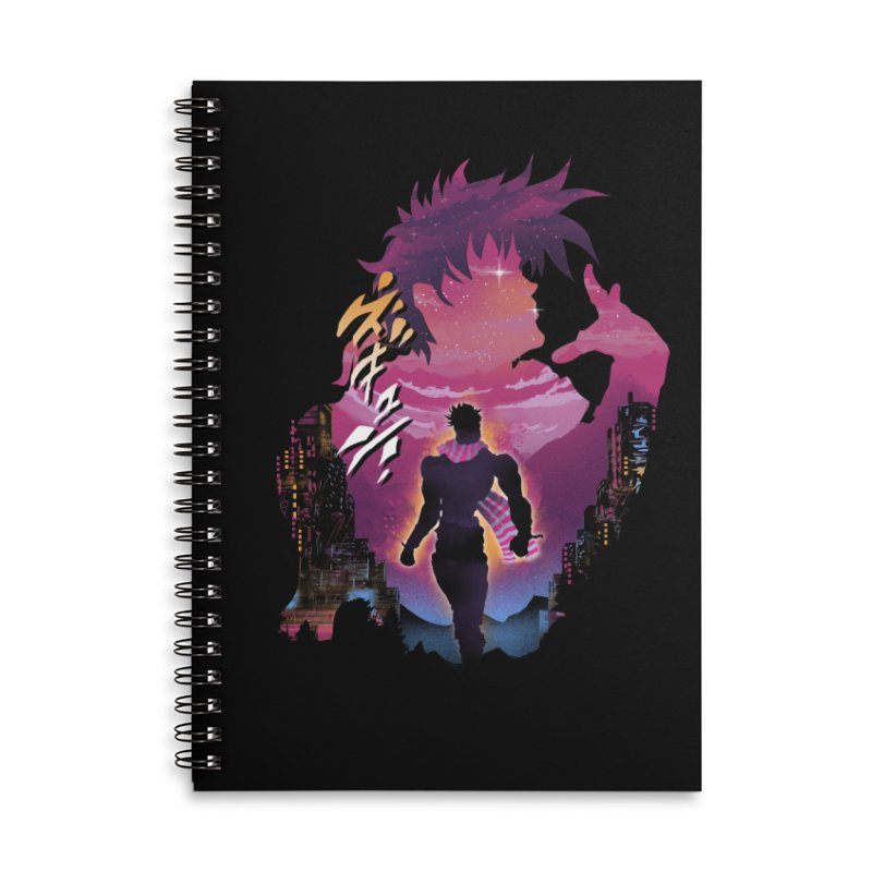 Joestar Adventure Accessories Lined Spiral Notebook by dandingeroz's Artist Shop