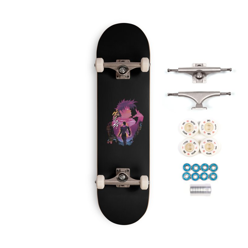 Joestar Adventure Accessories Complete - Premium Skateboard by dandingeroz's Artist Shop