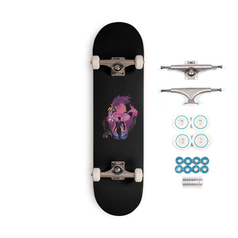 Joestar Adventure Accessories Complete - Basic Skateboard by dandingeroz's Artist Shop