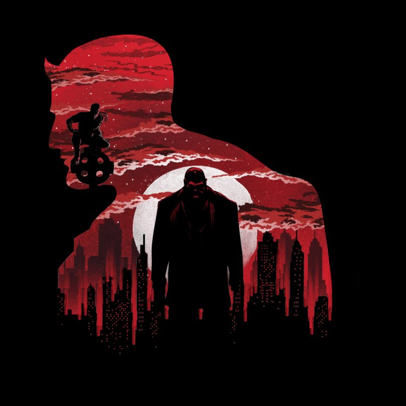The Man Without Fear Kids T-Shirt by dandingeroz's Artist Shop