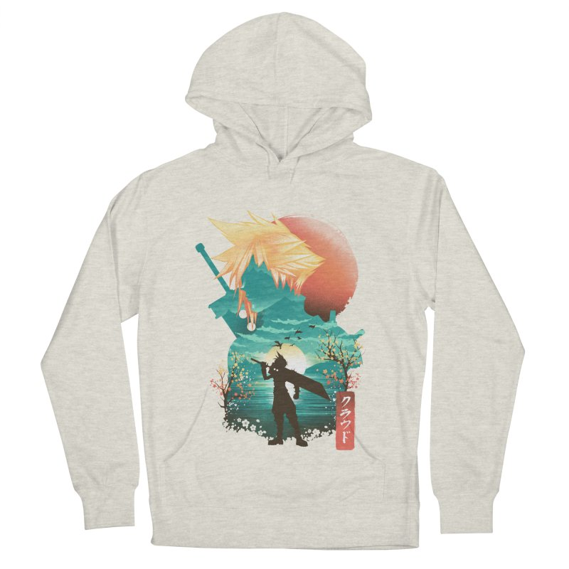 Ukiyo e Ex Soldier Women's French Terry Pullover Hoody by dandingeroz's Artist Shop