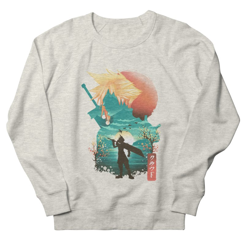 Ukiyo e Ex Soldier Women's French Terry Sweatshirt by dandingeroz's Artist Shop