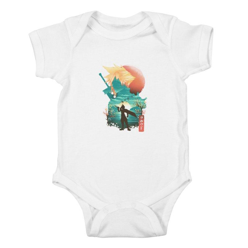 Ukiyo e Ex Soldier Kids Baby Bodysuit by dandingeroz's Artist Shop