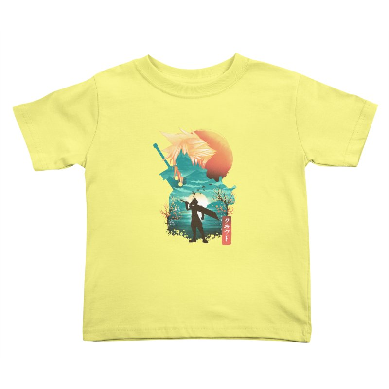 Ukiyo e Ex Soldier Kids Toddler T-Shirt by dandingeroz's Artist Shop