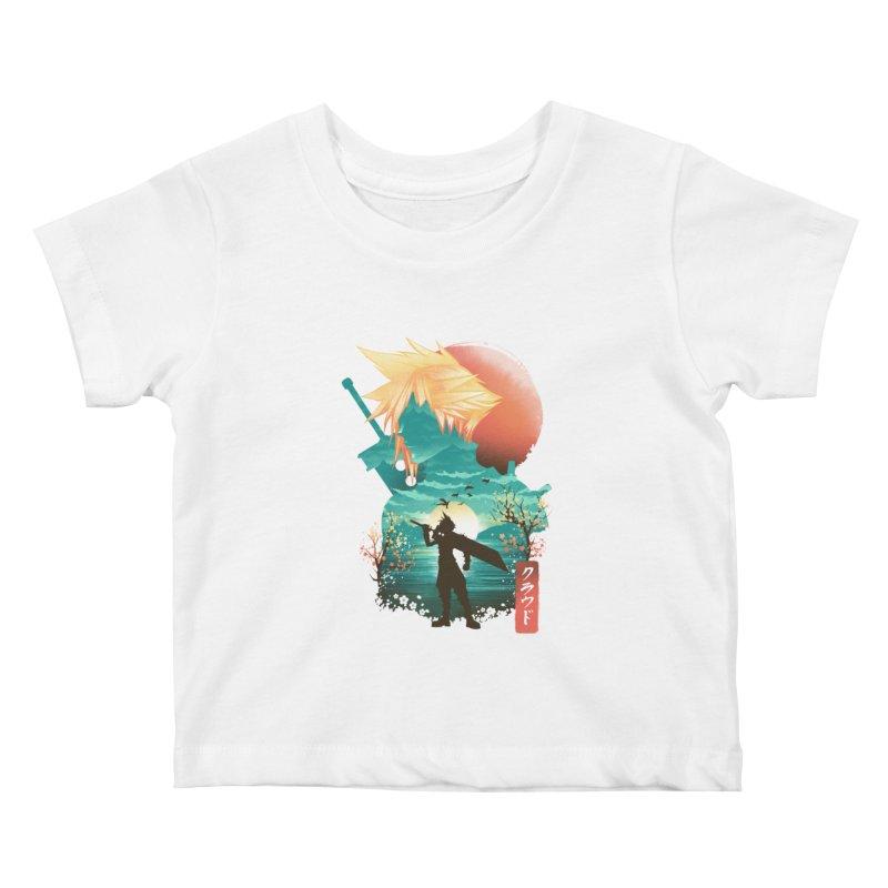 Ukiyo e Ex Soldier Kids Baby T-Shirt by dandingeroz's Artist Shop
