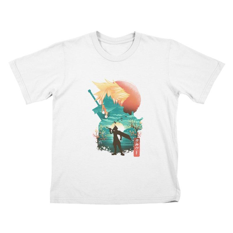 Ukiyo e Ex Soldier Kids T-Shirt by dandingeroz's Artist Shop