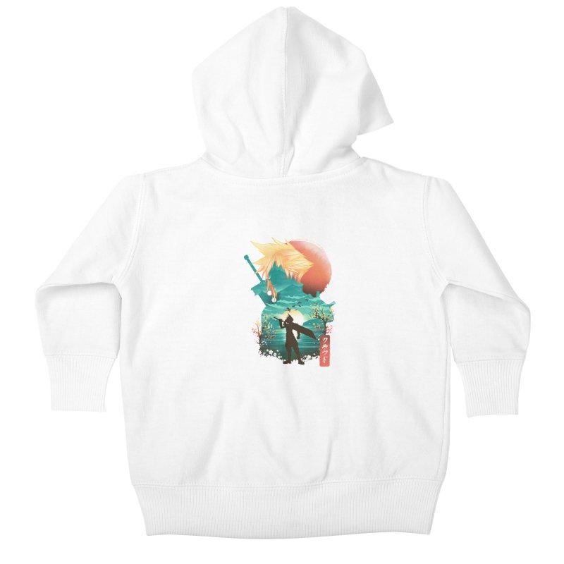 Ukiyo e Ex Soldier Kids Baby Zip-Up Hoody by dandingeroz's Artist Shop