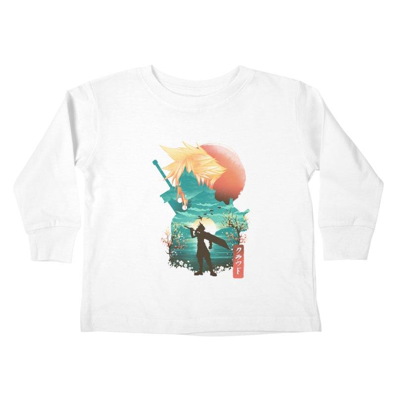 Ukiyo e Ex Soldier Kids Toddler Longsleeve T-Shirt by dandingeroz's Artist Shop
