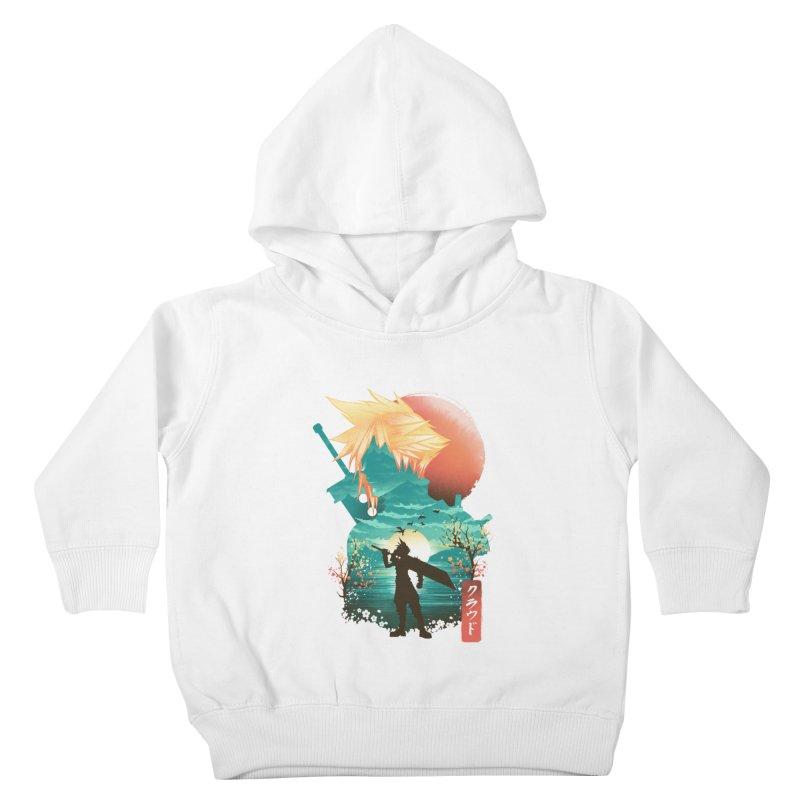 Ukiyo e Ex Soldier Kids Toddler Pullover Hoody by dandingeroz's Artist Shop