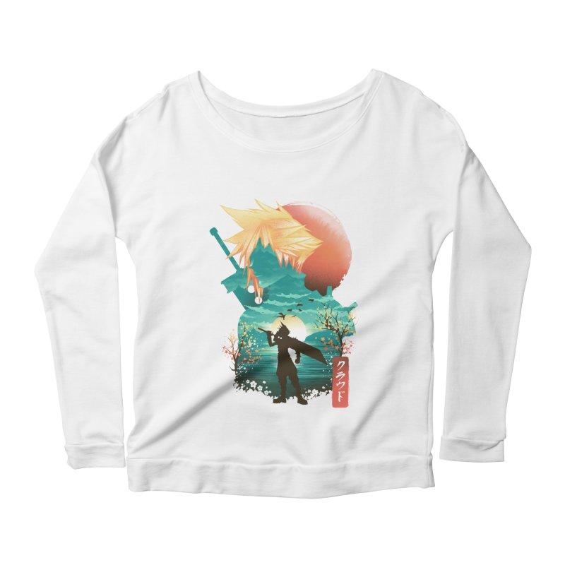 Ukiyo e Ex Soldier Women's Scoop Neck Longsleeve T-Shirt by dandingeroz's Artist Shop