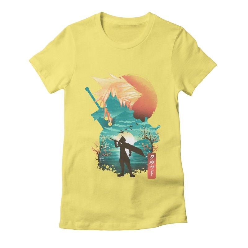 Ukiyo e Ex Soldier Women's Fitted T-Shirt by dandingeroz's Artist Shop
