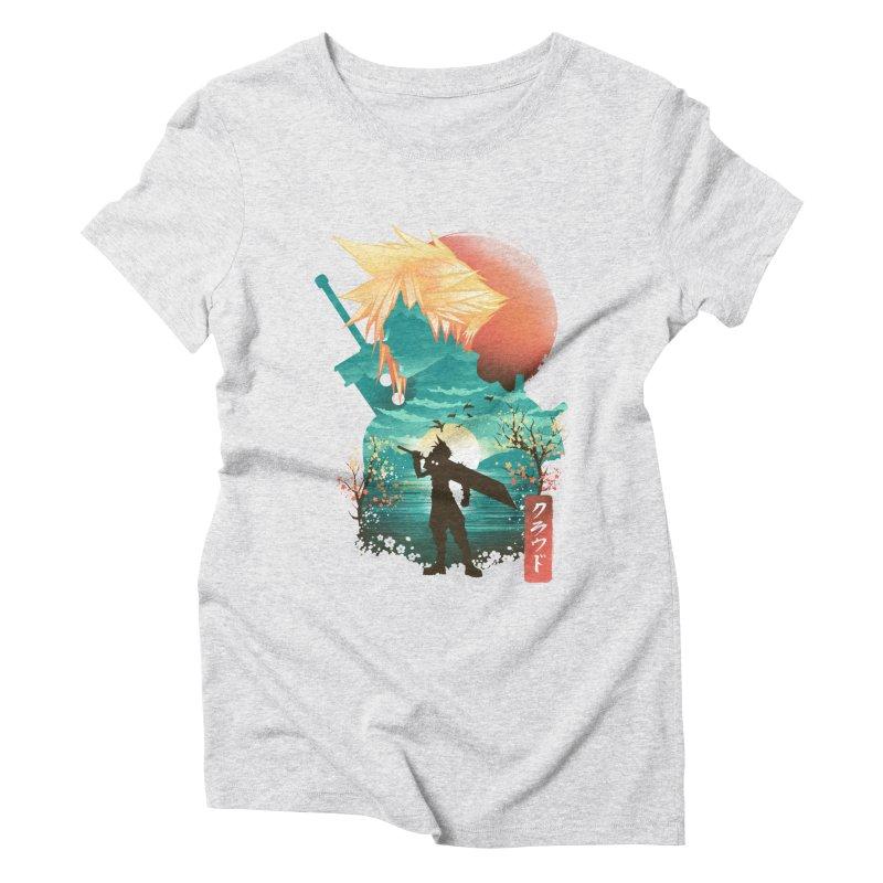 Ukiyo e Ex Soldier Women's Triblend T-Shirt by dandingeroz's Artist Shop