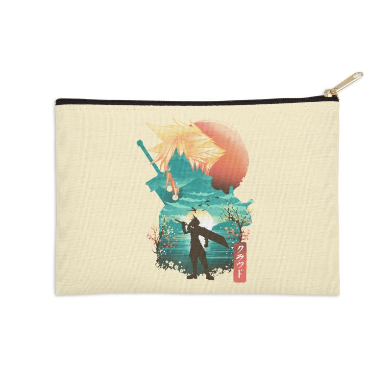 Ukiyo e Ex Soldier Accessories Zip Pouch by dandingeroz's Artist Shop