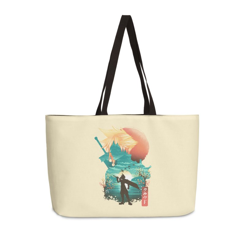 Ukiyo e Ex Soldier Accessories Weekender Bag Bag by dandingeroz's Artist Shop