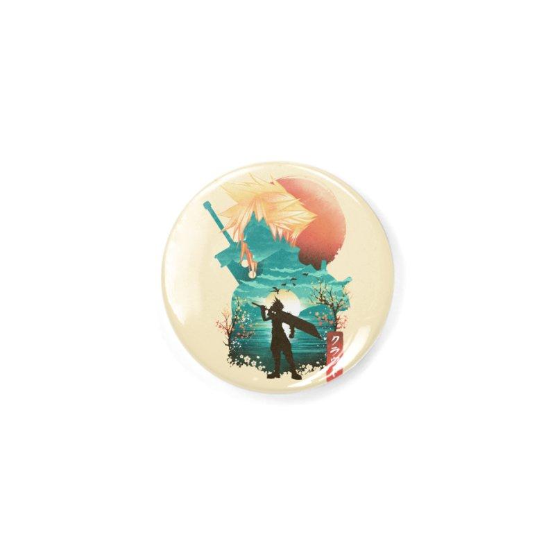 Ukiyo e Ex Soldier Accessories Button by dandingeroz's Artist Shop