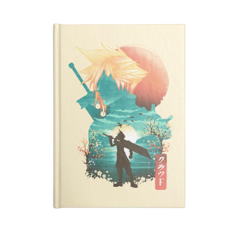 Ukiyo e Ex Soldier Accessories Lined Journal Notebook by dandingeroz's Artist Shop