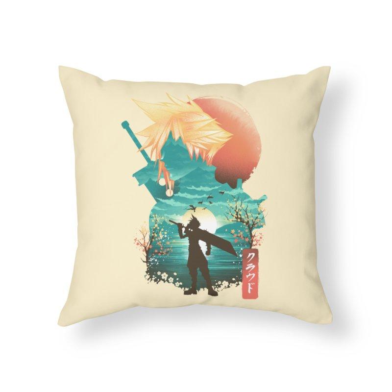 Ukiyo e Ex Soldier Home Throw Pillow by dandingeroz's Artist Shop