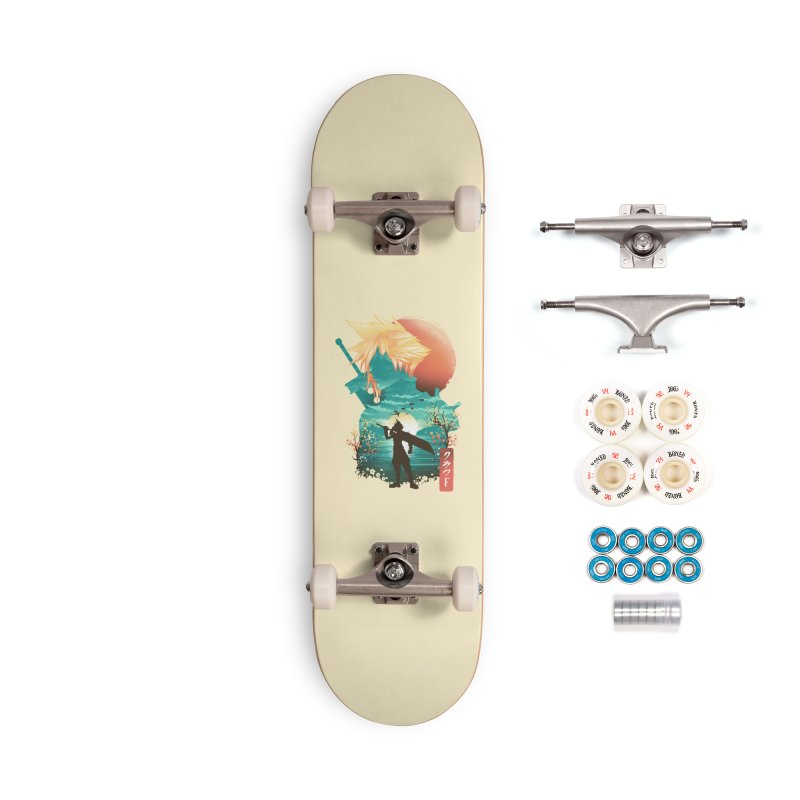 Ukiyo e Ex Soldier Accessories Complete - Premium Skateboard by dandingeroz's Artist Shop