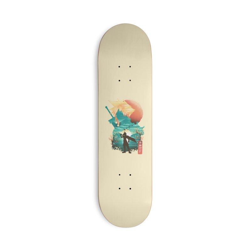 Ukiyo e Ex Soldier Accessories Deck Only Skateboard by dandingeroz's Artist Shop