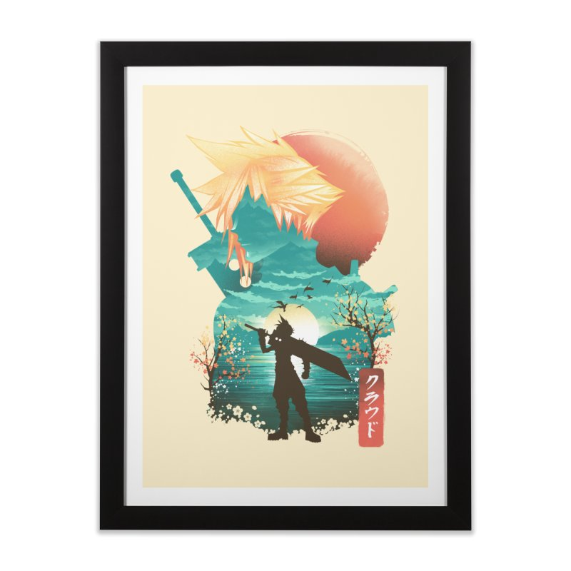 Ukiyo e Ex Soldier Home Framed Fine Art Print by dandingeroz's Artist Shop