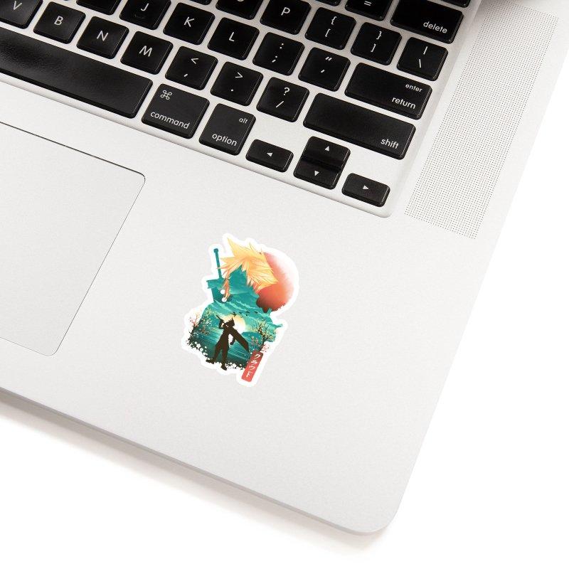 Ukiyo e Ex Soldier Accessories Sticker by dandingeroz's Artist Shop