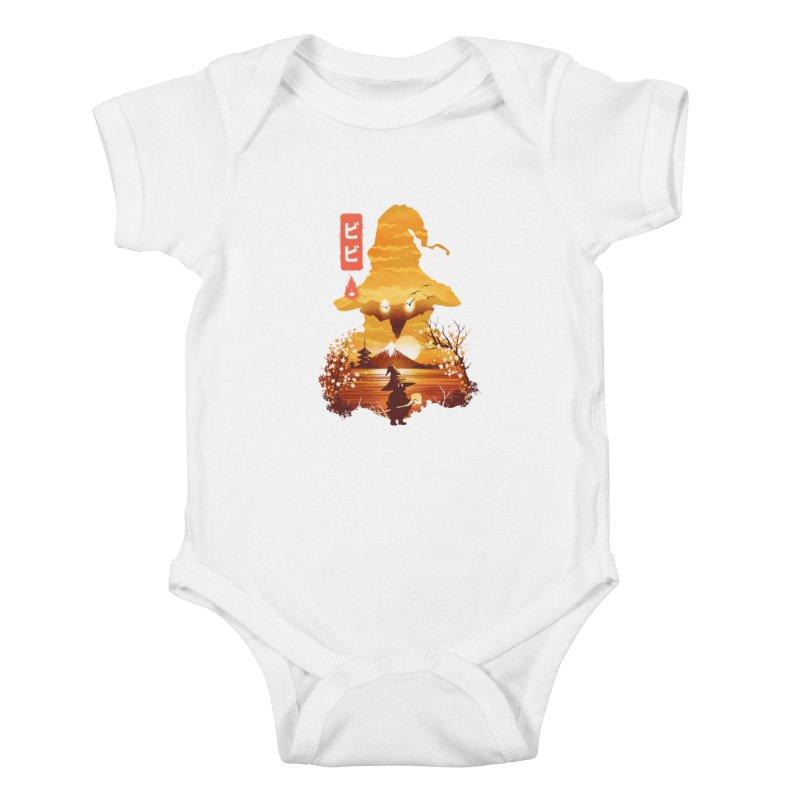 Ukiyoe e Vivi Kids Baby Bodysuit by dandingeroz's Artist Shop