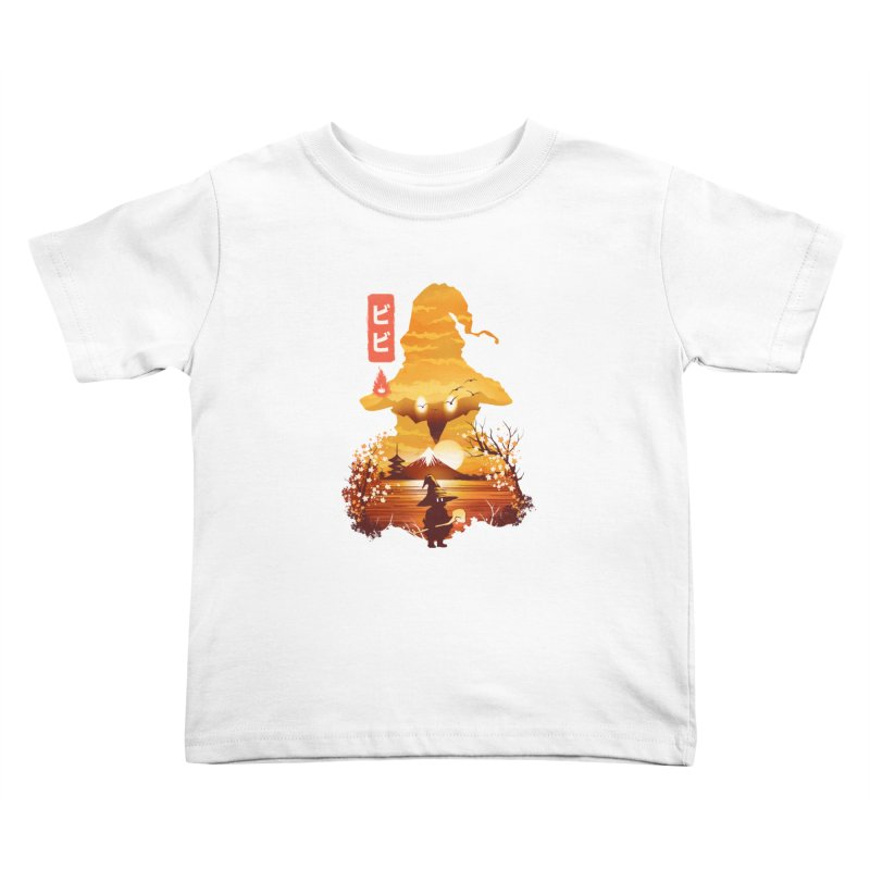 Ukiyoe e Vivi Kids Toddler T-Shirt by dandingeroz's Artist Shop