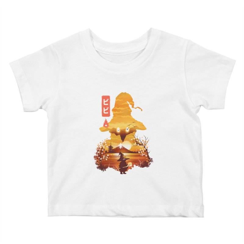 Ukiyoe e Vivi Kids Baby T-Shirt by dandingeroz's Artist Shop