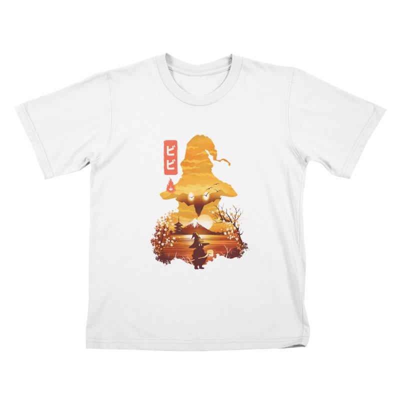 Ukiyoe e Vivi Kids T-Shirt by dandingeroz's Artist Shop