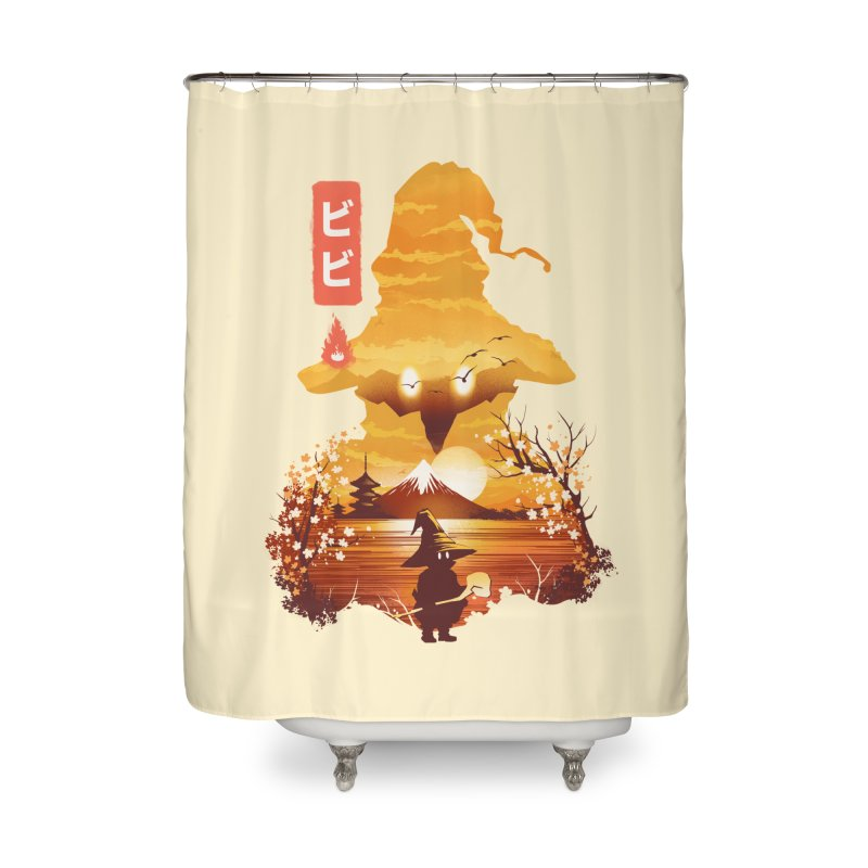 Ukiyoe e Vivi Home Shower Curtain by dandingeroz's Artist Shop