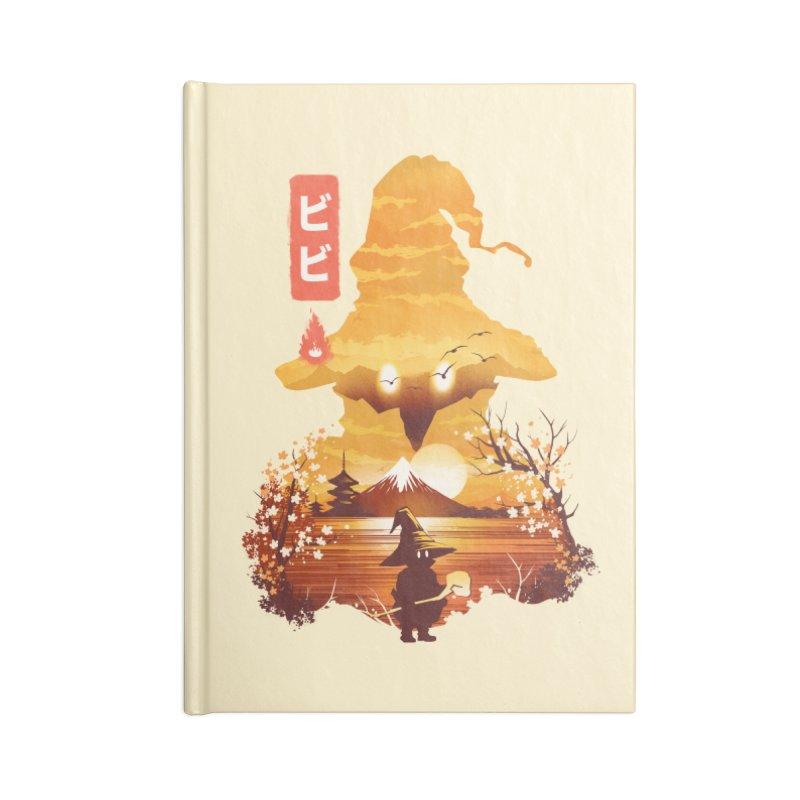 Ukiyoe e Vivi Accessories Lined Journal Notebook by dandingeroz's Artist Shop