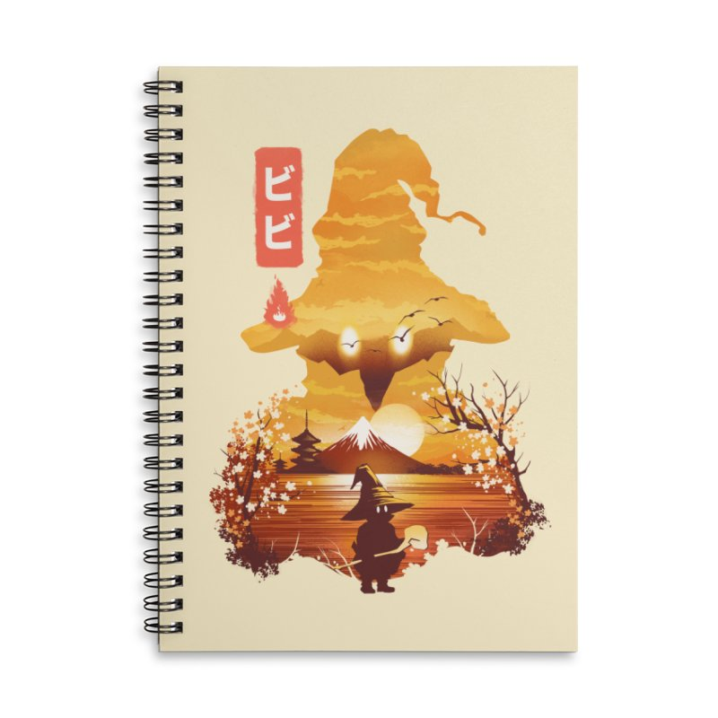 Ukiyoe e Vivi Accessories Lined Spiral Notebook by dandingeroz's Artist Shop