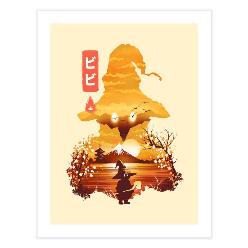 Ukiyoe e Vivi Home Fine Art Print by dandingeroz's Artist Shop
