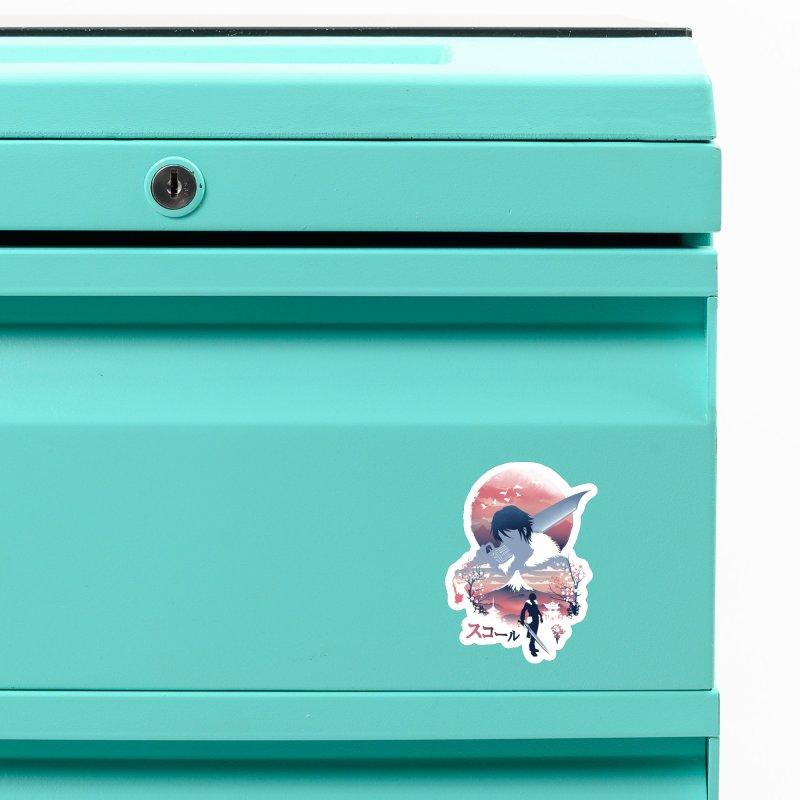 Ukiyo e Squall Accessories Magnet by dandingeroz's Artist Shop