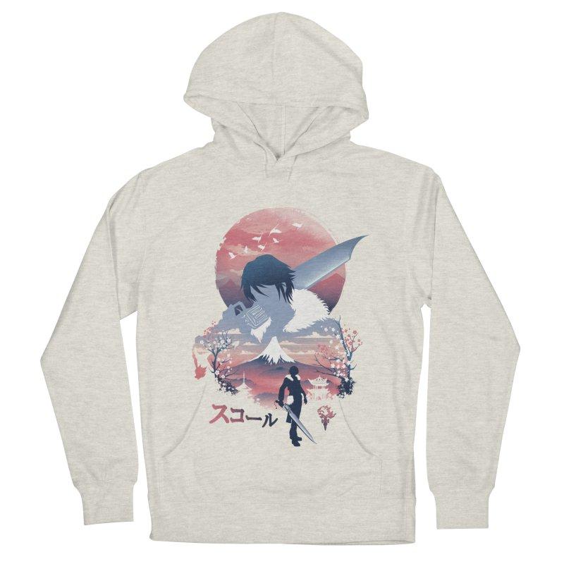 Ukiyo e Squall Men's French Terry Pullover Hoody by dandingeroz's Artist Shop