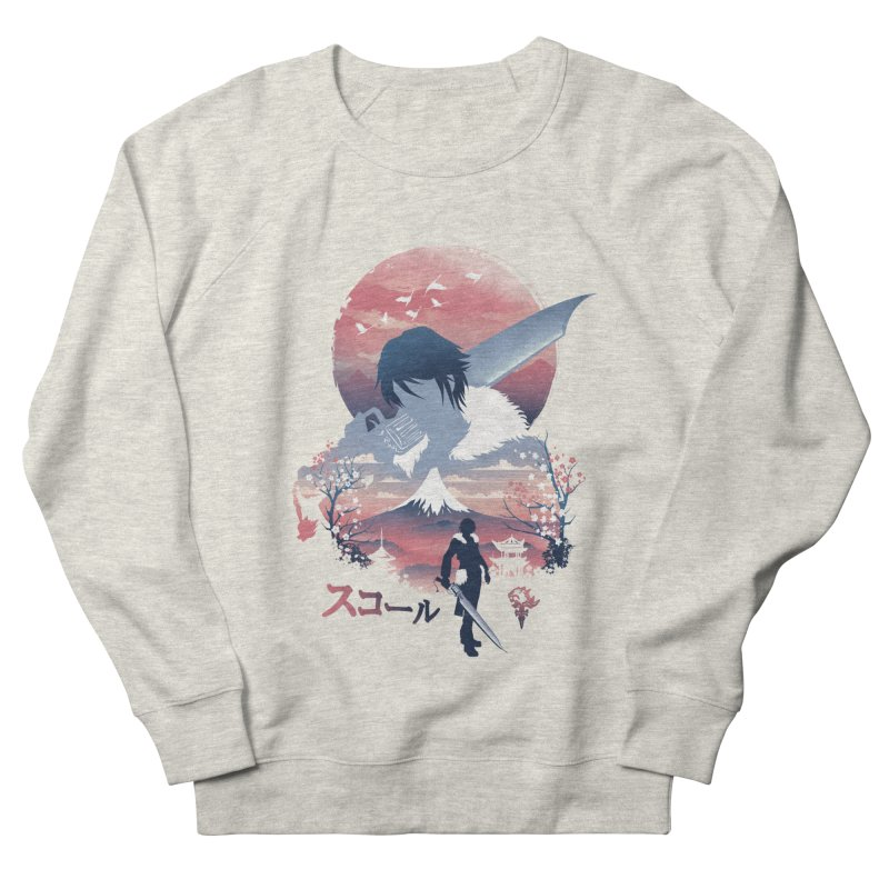 Ukiyo e Squall Women's French Terry Sweatshirt by dandingeroz's Artist Shop