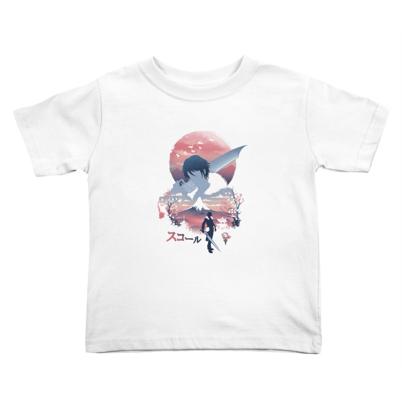 Ukiyo e Squall Kids Toddler T-Shirt by dandingeroz's Artist Shop