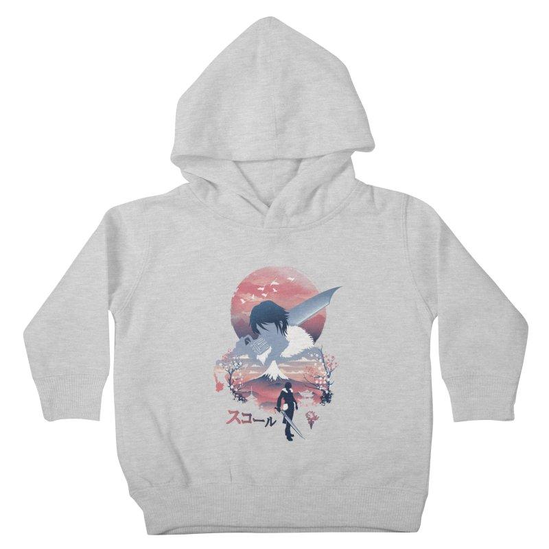 Ukiyo e Squall Kids Toddler Pullover Hoody by dandingeroz's Artist Shop