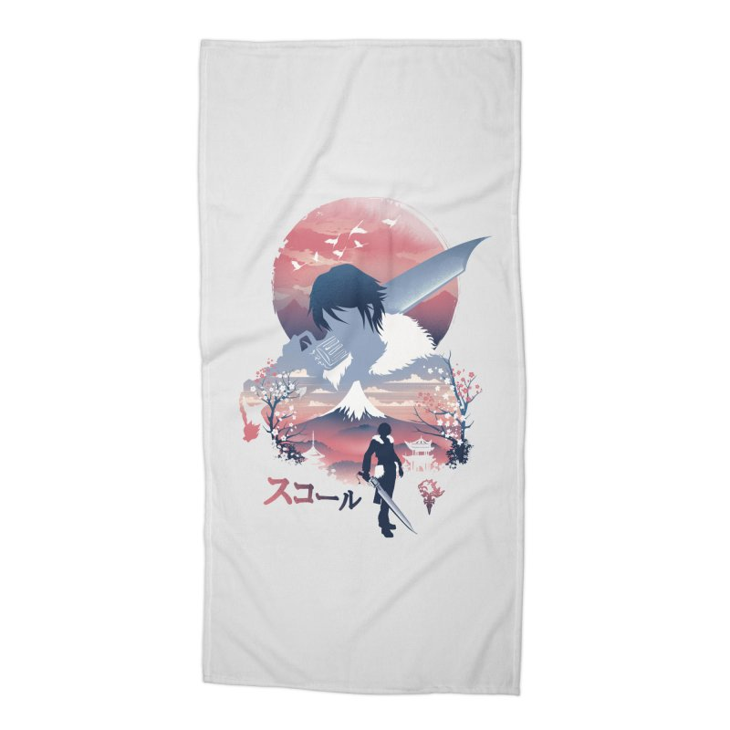 Ukiyo e Squall Accessories Beach Towel by dandingeroz's Artist Shop