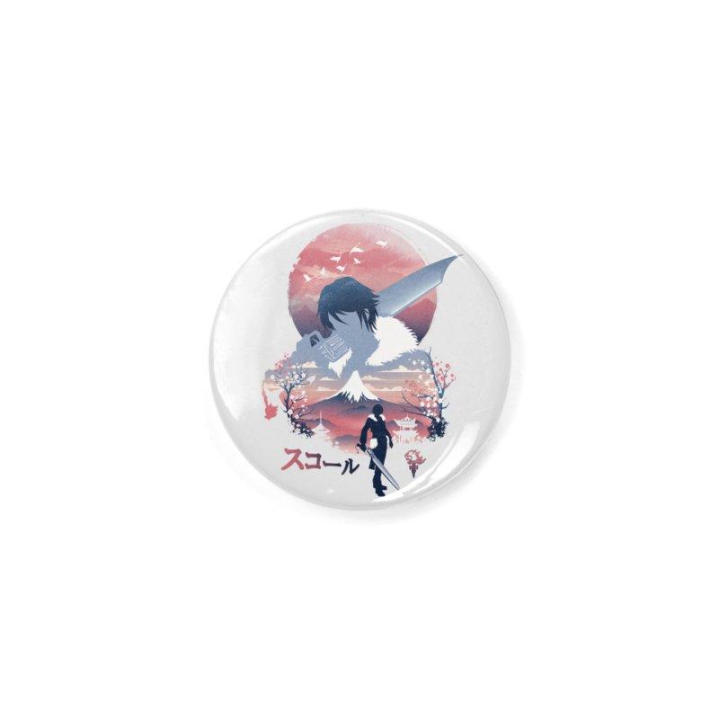 Ukiyo e Squall Accessories Button by dandingeroz's Artist Shop