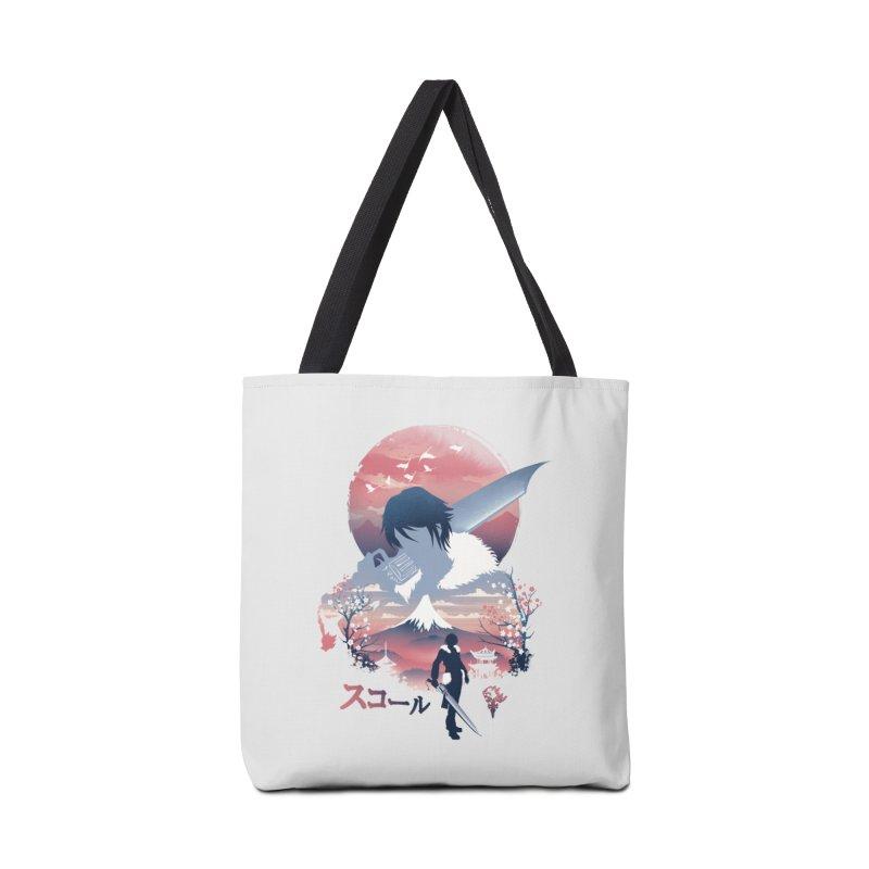 Ukiyo e Squall Accessories Tote Bag Bag by dandingeroz's Artist Shop