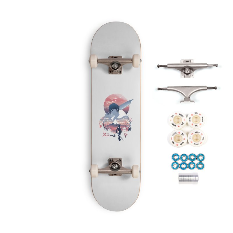 Ukiyo e Squall Accessories Complete - Premium Skateboard by dandingeroz's Artist Shop