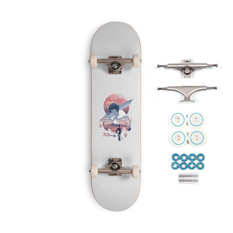 Ukiyo e Squall Accessories Complete - Basic Skateboard by dandingeroz's Artist Shop
