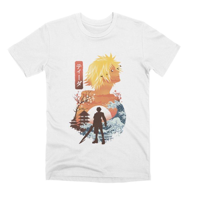 Ukiyo e Tidus Men's Premium T-Shirt by dandingeroz's Artist Shop