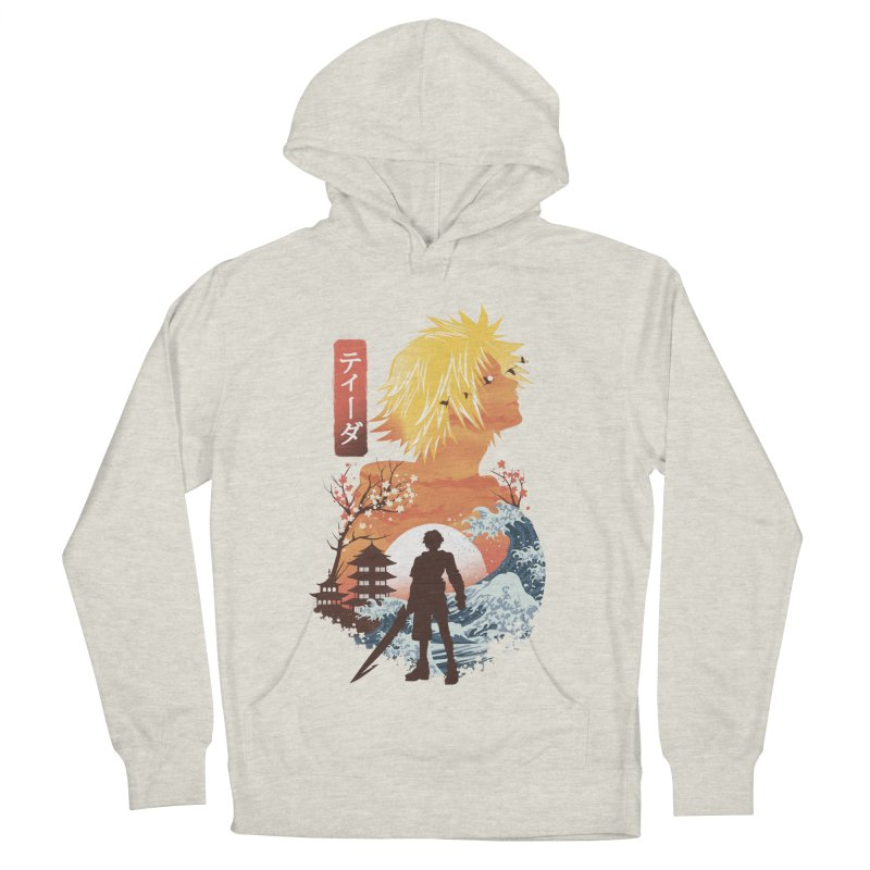 Ukiyo e Tidus Women's French Terry Pullover Hoody by dandingeroz's Artist Shop