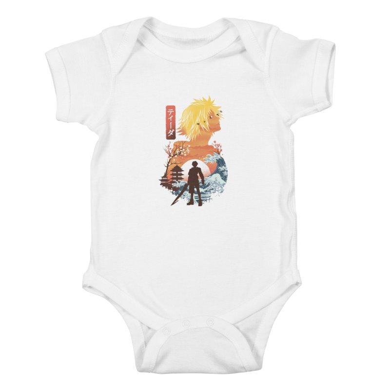 Ukiyo e Tidus Kids Baby Bodysuit by dandingeroz's Artist Shop