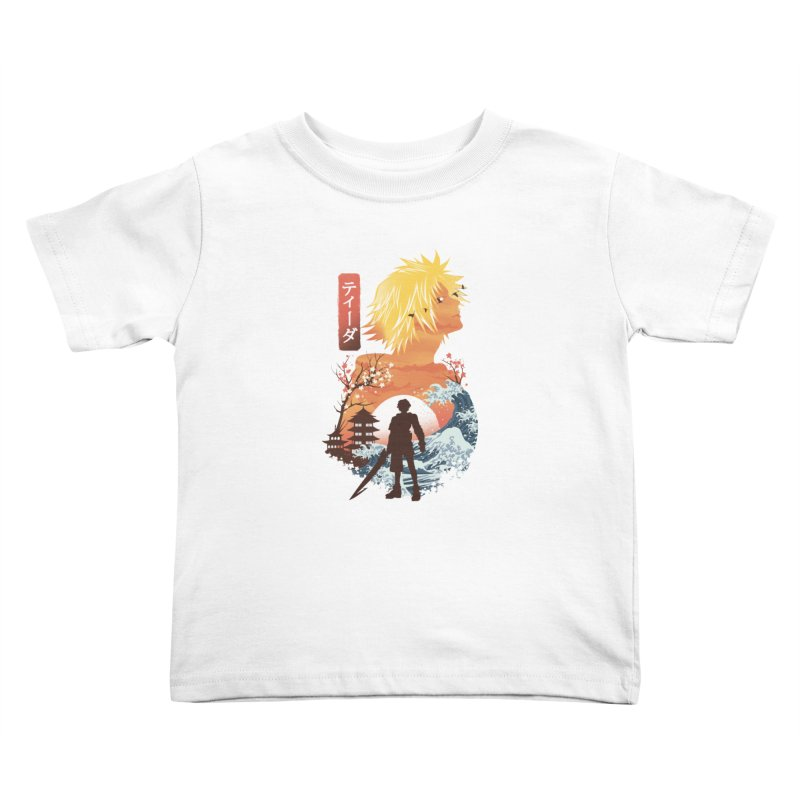 Ukiyo e Tidus Kids Toddler T-Shirt by dandingeroz's Artist Shop