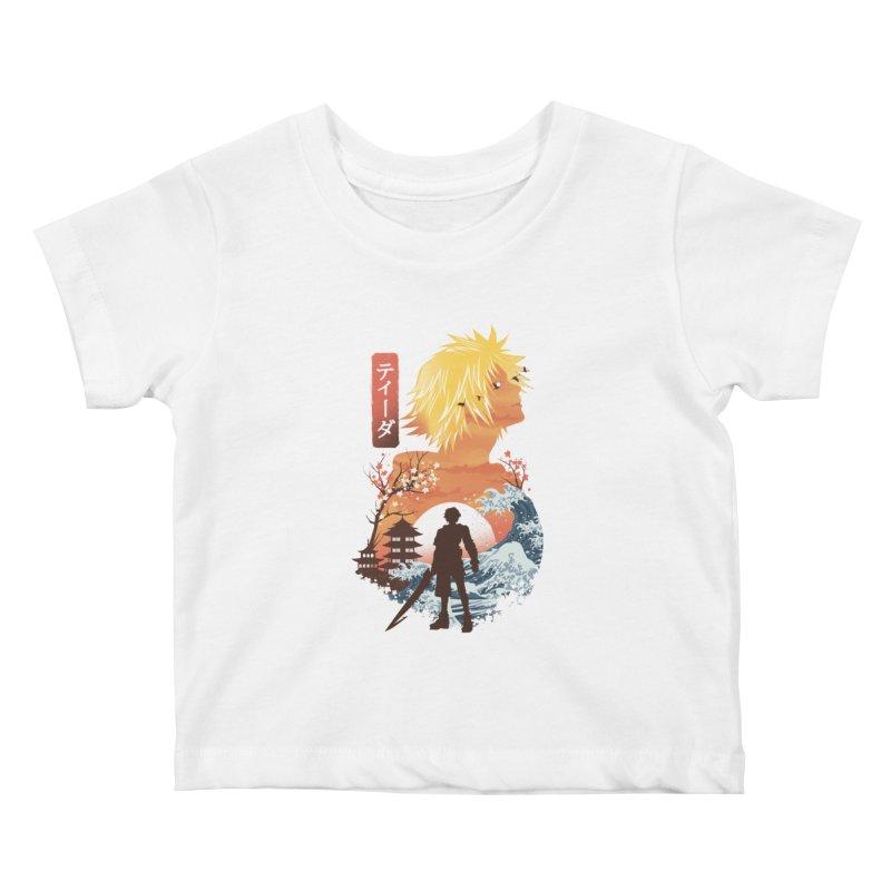 Ukiyo e Tidus Kids Baby T-Shirt by dandingeroz's Artist Shop