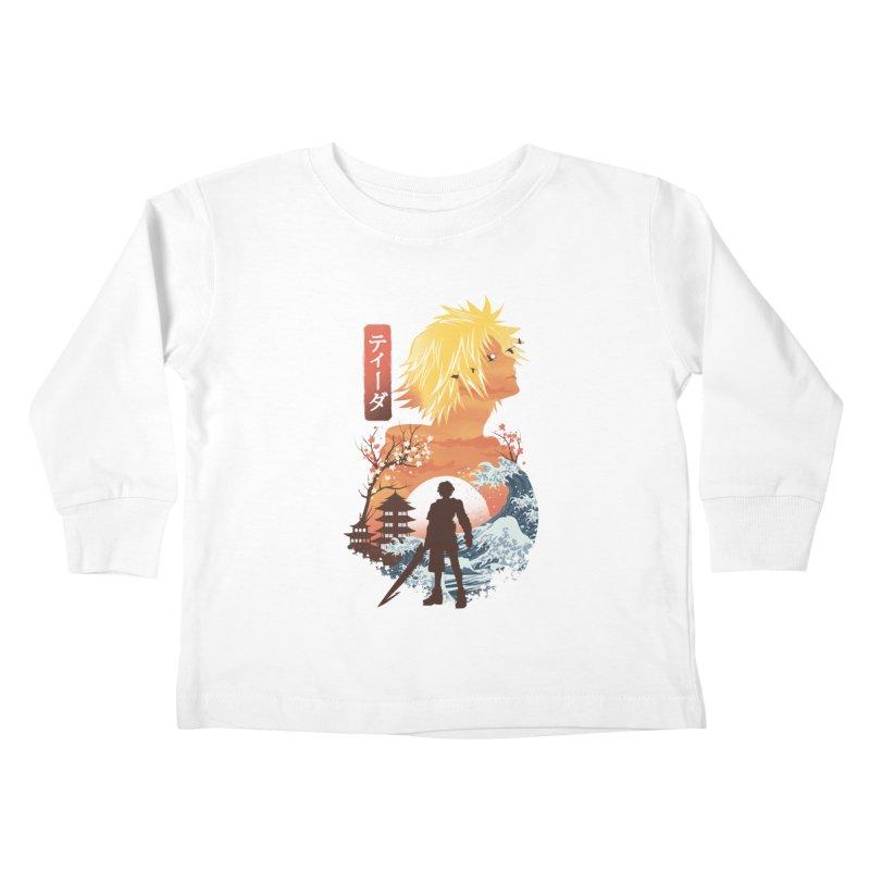 Ukiyo e Tidus Kids Toddler Longsleeve T-Shirt by dandingeroz's Artist Shop