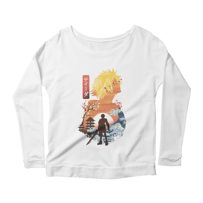 Ukiyo e Tidus Women's Scoop Neck Longsleeve T-Shirt by dandingeroz's Artist Shop
